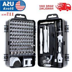 117 In 1 Screwdriver Maintenance Repair Tool Kit Magnetic El