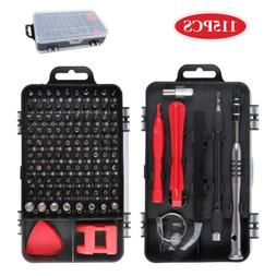 115pcs Magnetic Precision Screwdriver Kit PC Phone Electroni