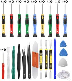 25pcs Electronics Repair Tool Kit, Precision Screwdriver Set
