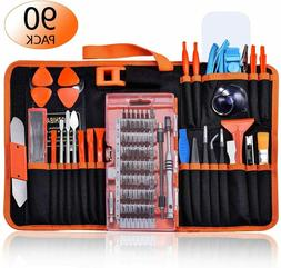 90pcs Electronics Repair Tool Kit Professional, Precision Sc