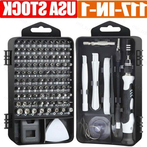 117 in 1 screwdriver maintenance repair tool