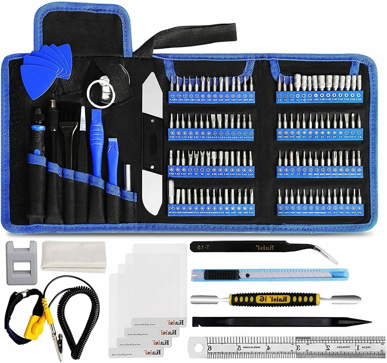 136 in 1 electronics repair tool kit