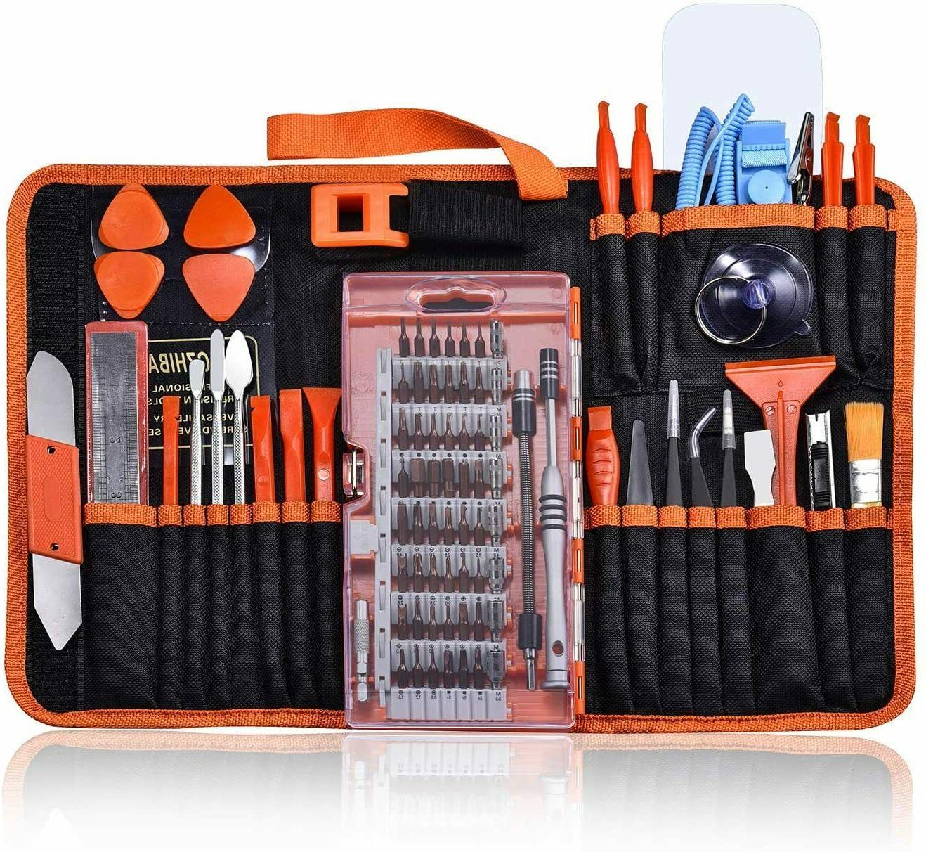 90pcs electronics repair tool kit screwdriver set