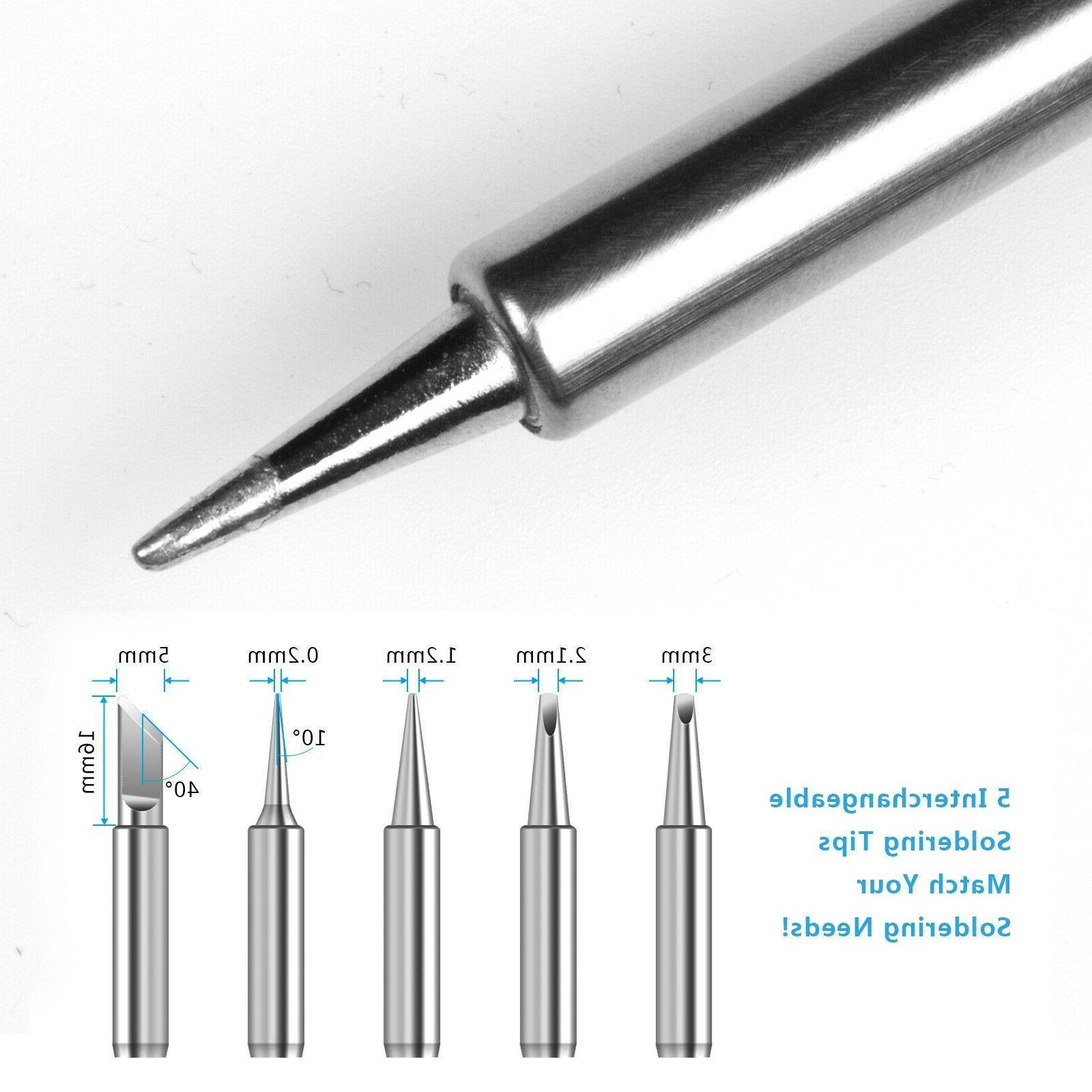 Electronic Soldering Iron Tool Kit Gun Adjustable
