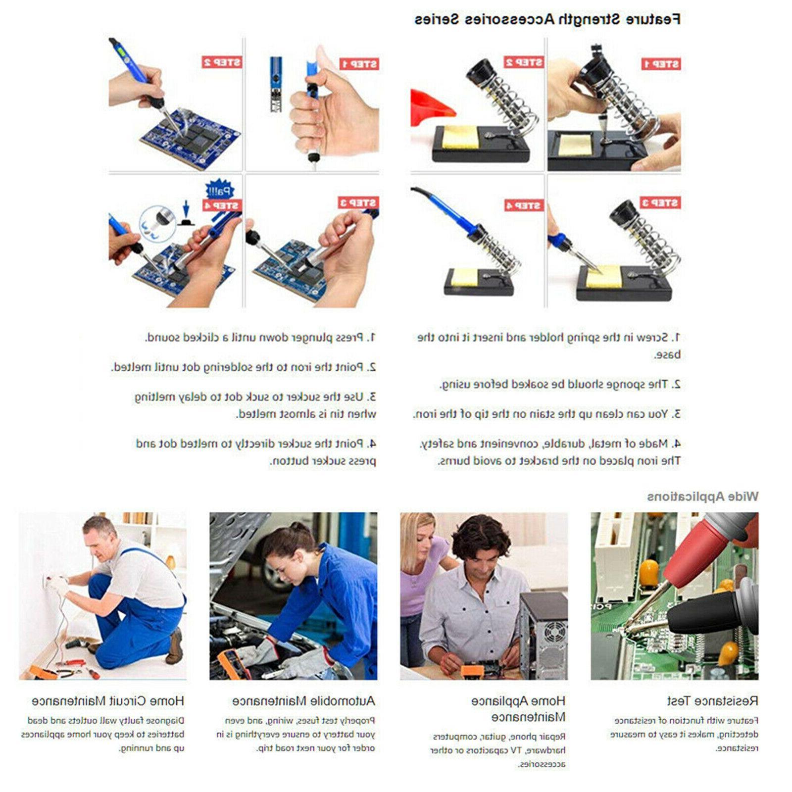 Electronic Soldering Tool Gun