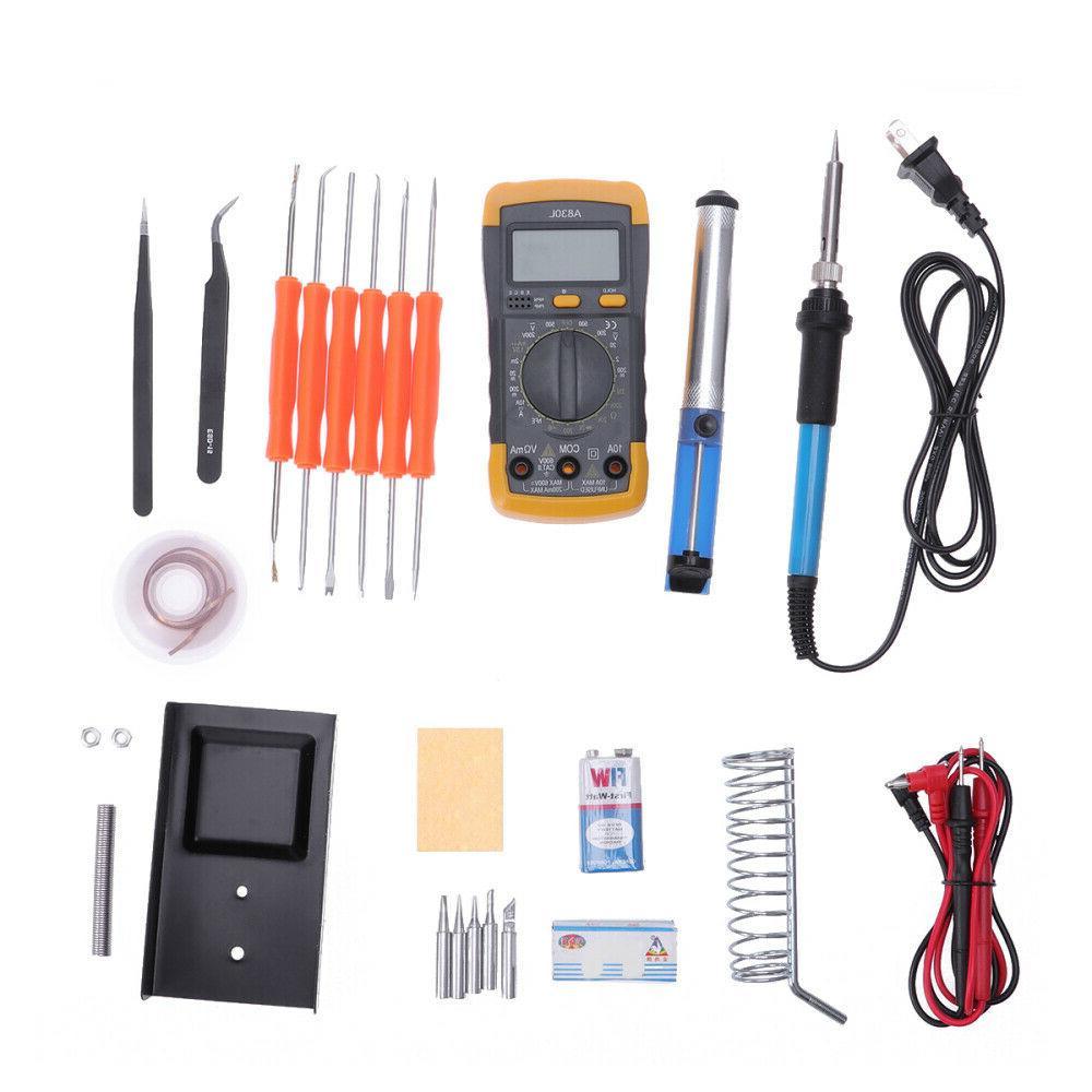 Electronic Soldering Iron Tool Kit Adjustable