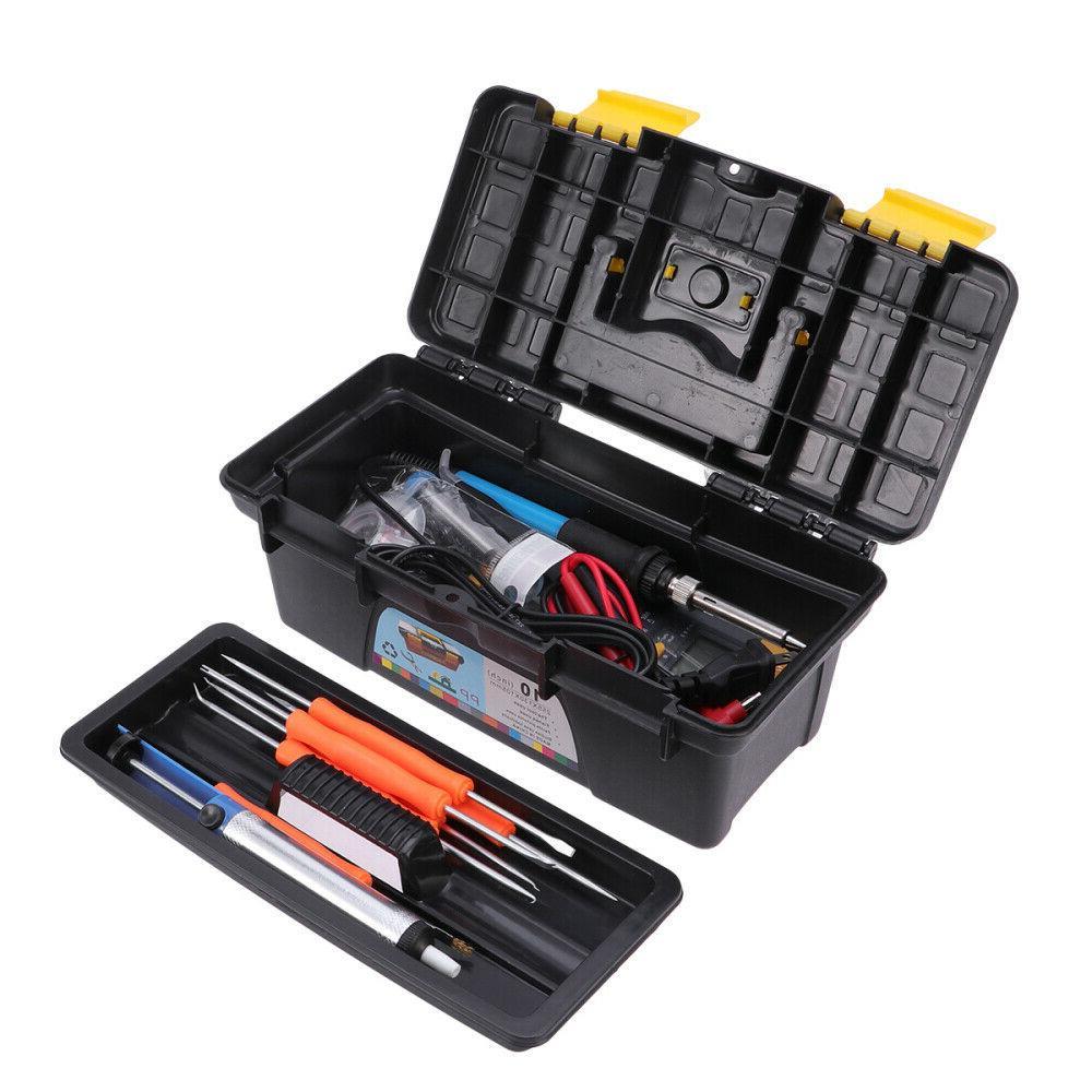 electronic soldering iron gun tool kit welding
