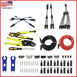 Solar Panel Connector Extension Cable Crimping Stripping Too