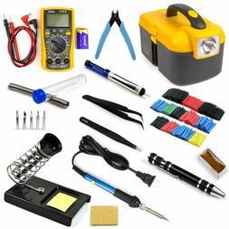 Ziss Soldering Iron Tool Kit Electronics Adjustable Temperat